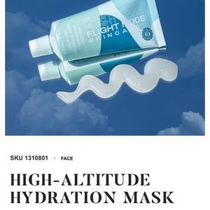 🆕 FLIGHT MODE SKINCARE HIGH ALTITUDE MASK 🆕